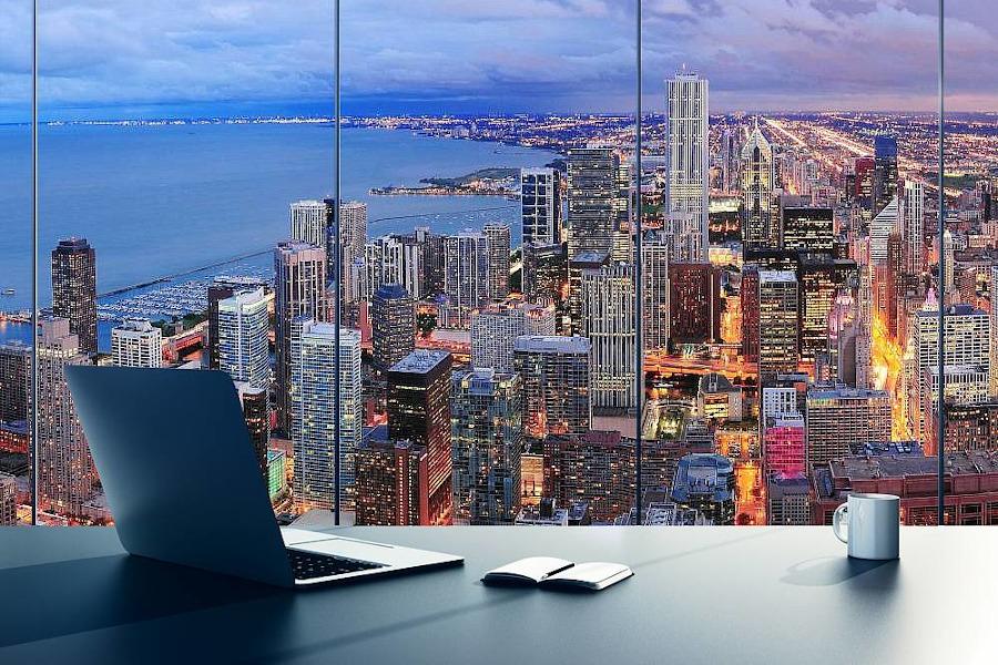 Fototapeta 3D panorama