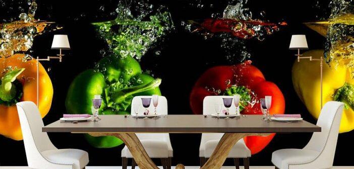Fototapeta do kuchni warzywa